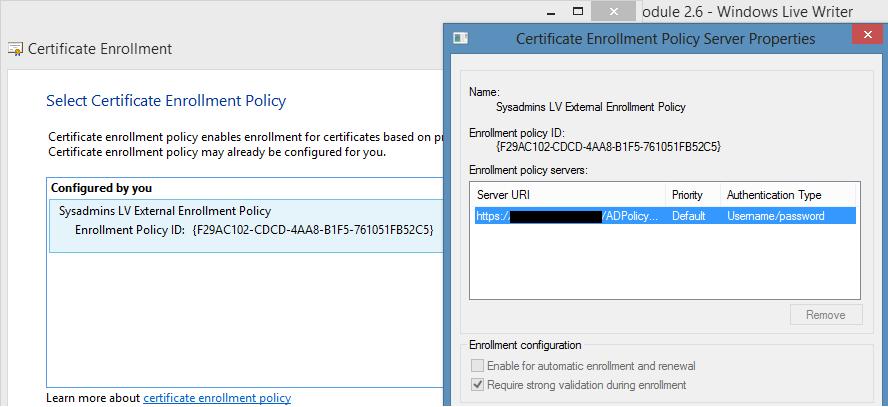 PowerShell PKI Module 2 6 - PKI Extensions