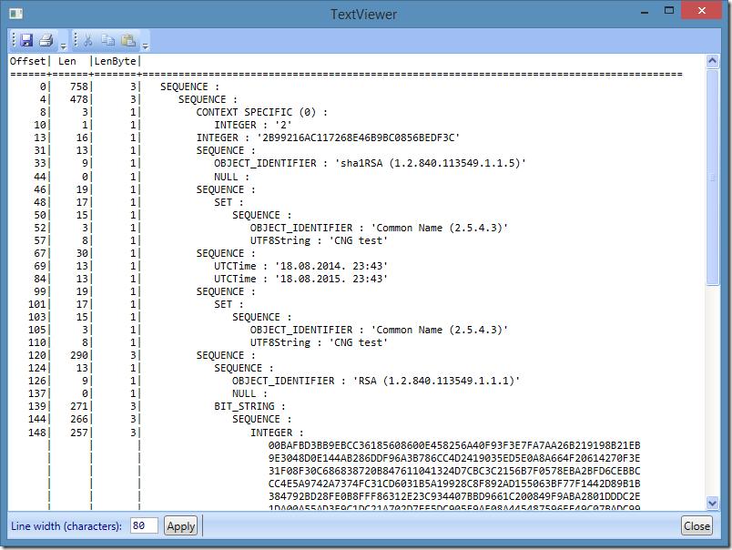 ASN.1 Playground ASN.1 compiler encoder decoder