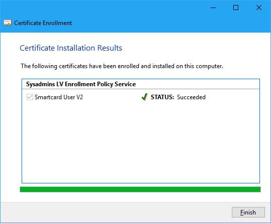 Certificate Autoenrollment in Windows Server 2016 (part 3