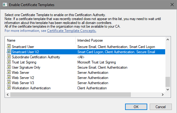 Certificate Autoenrollment in Windows Server 2016 (part 3